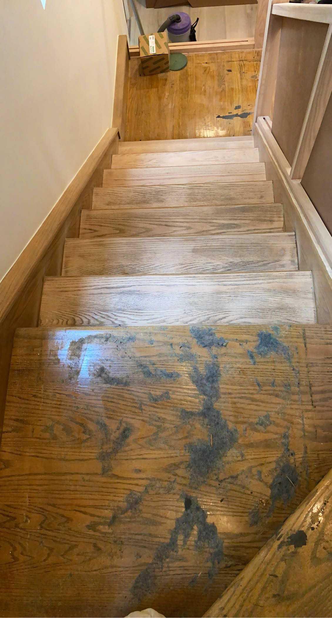 raw stairs
