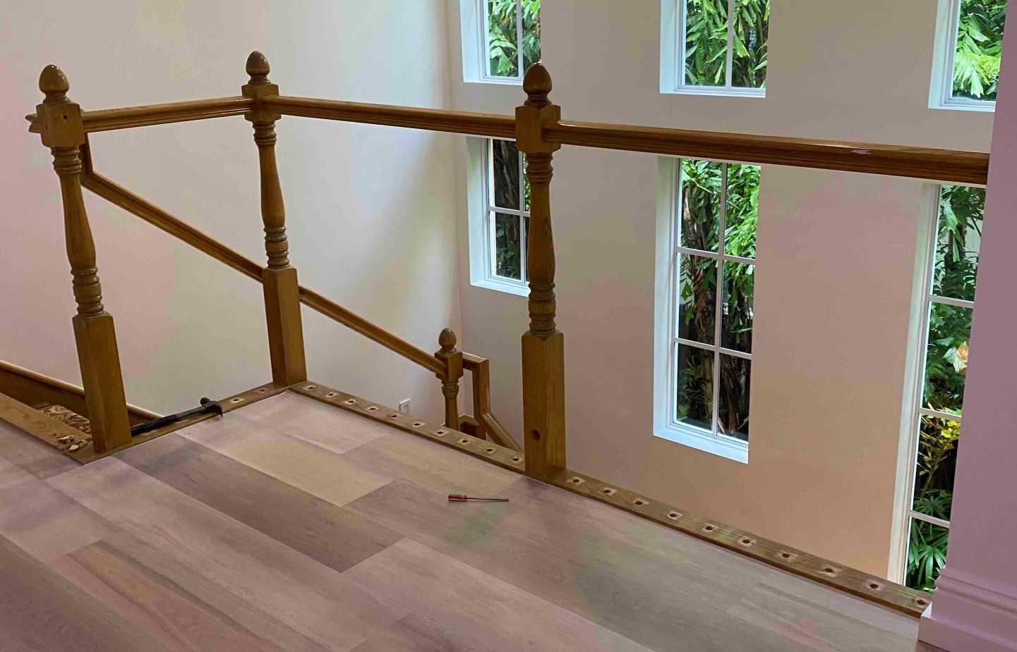 demo railing