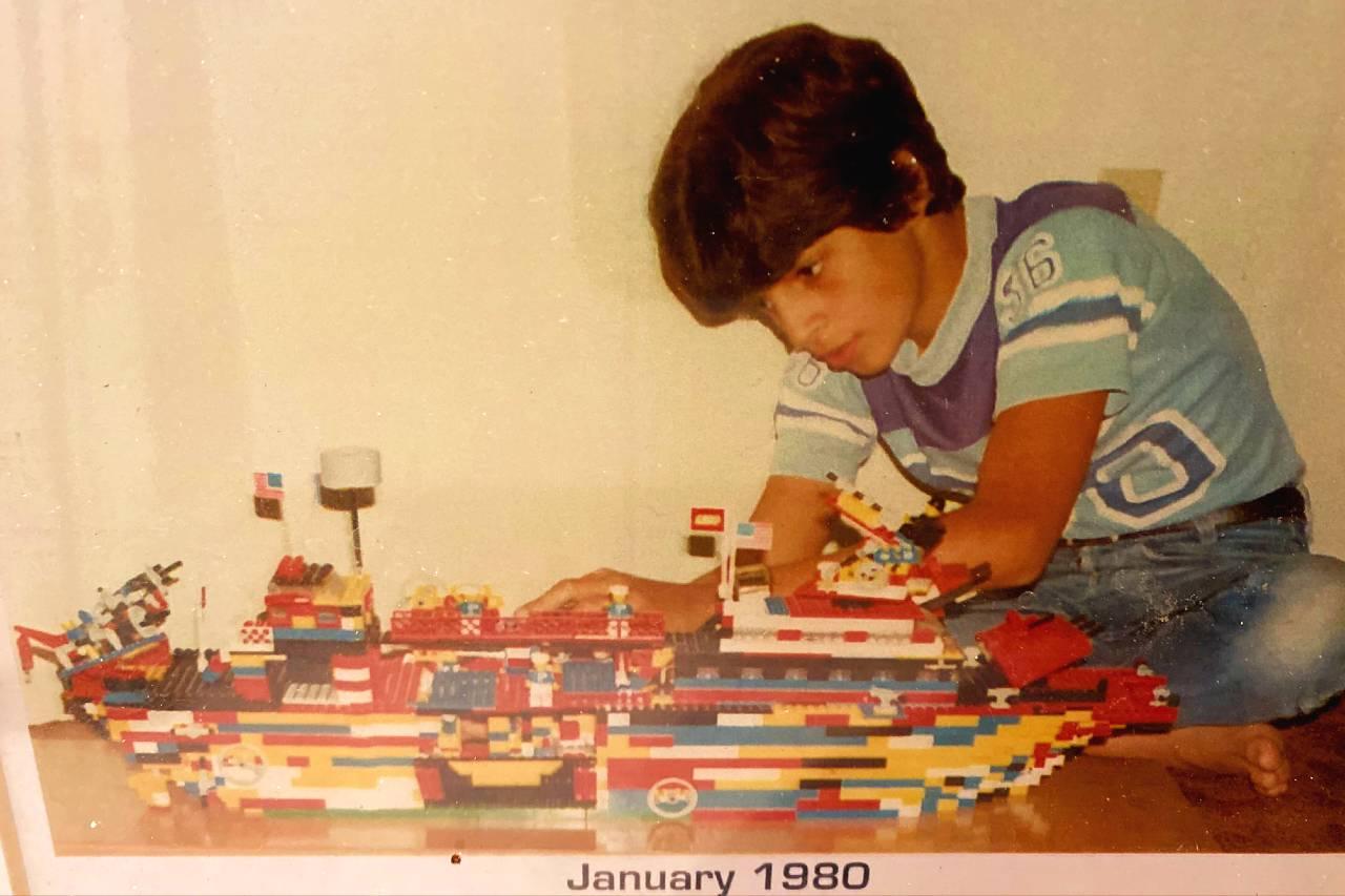 Frank's Lego Battleship