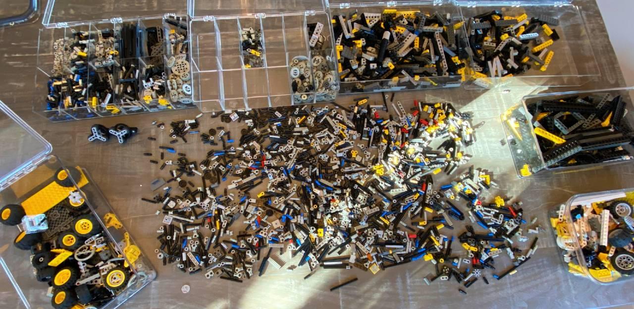 Hyper sort and filtering of Legos