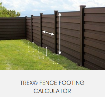 Trex Fencing Calculator
